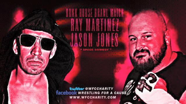 It's Official – Ray Martinez vs Jason Jones in a Bunkhouse Brawl!