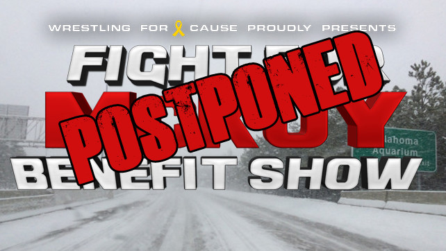 The Fight for McKoy – Postponed!