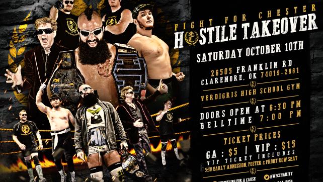 The Fight for Chester: Hostile Takeover – October 10th!