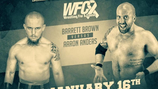 Barrett Brown vs. Aaron Anders