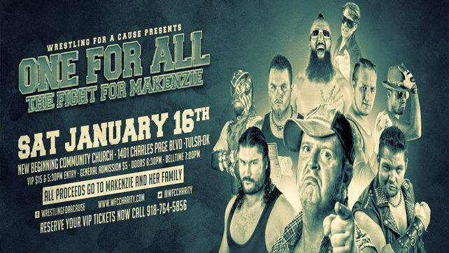 One For All: The Fight for Makenzie – Event Results