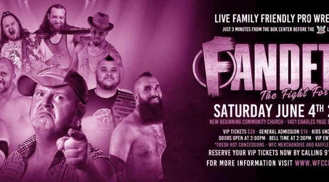 "WFC Presents: ""Fandetta – The Fight for Buddy"" – Event Results"