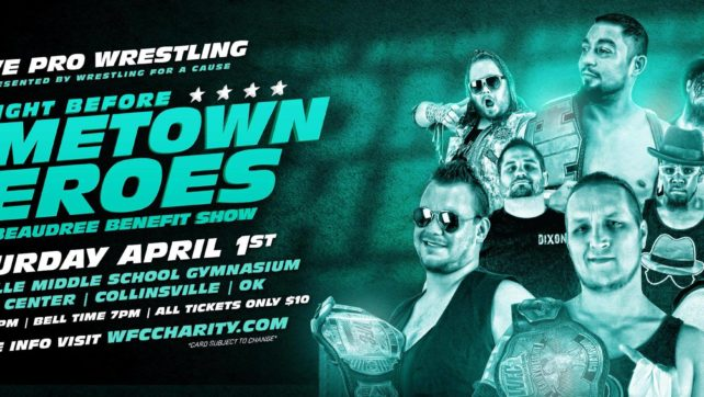 Second Show Added – The Fight Before HomeTown Heroes!